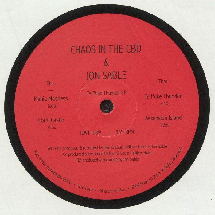 Chaos In The Cbd | Jon Sable Te Puke Thunder EP