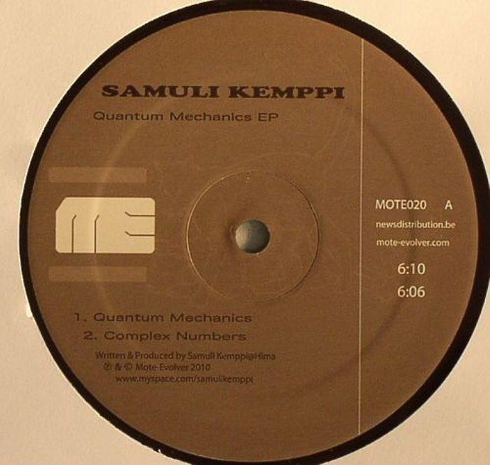 Samuli Kemppi Quantum Mechanics EP