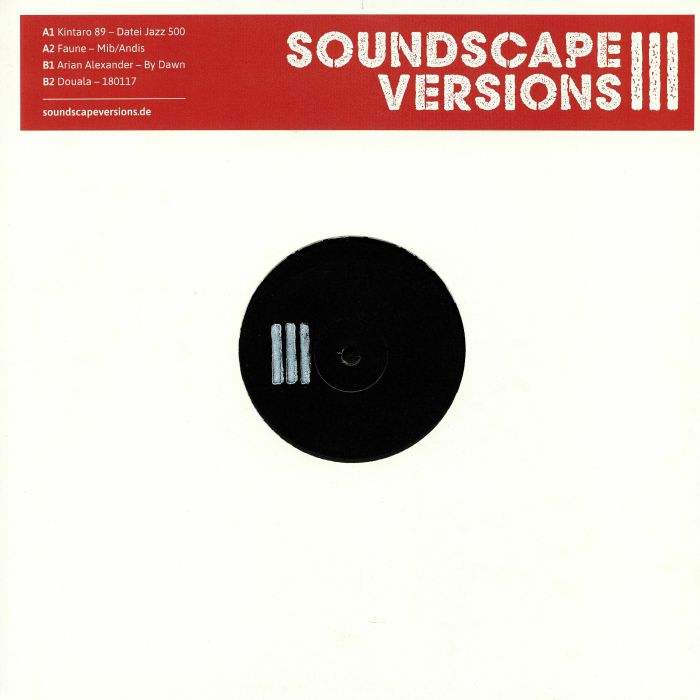 Soundscape Versions Vinyl