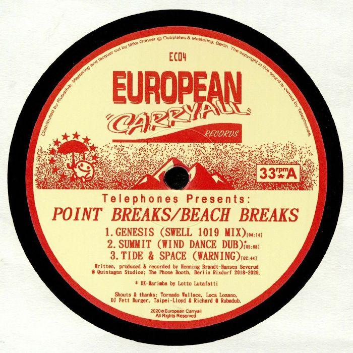 Telephones Telephones Presents: Point Breaks/Beach Breaks