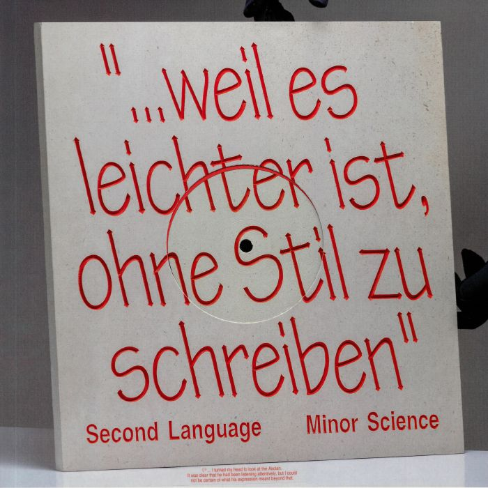 Minor Science Second Language