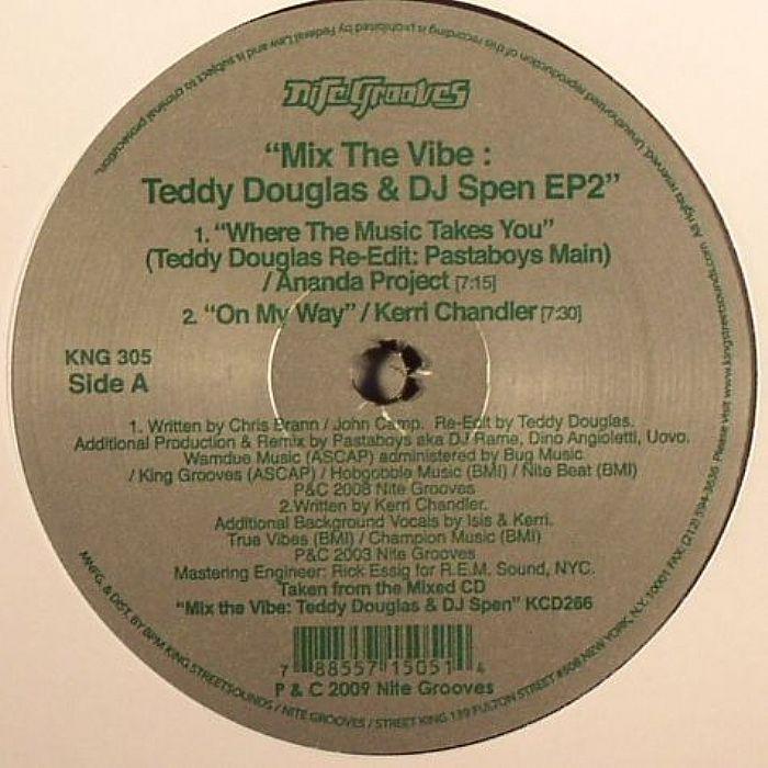 Mix The Vibe: Teddy Douglas and DJ Spen EP2