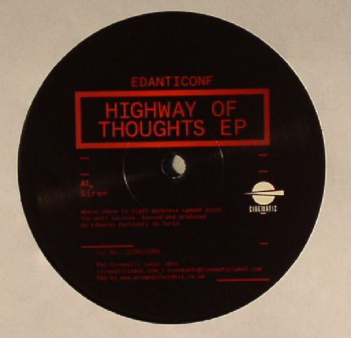 Edanticonf Highway Of Thoughts EP