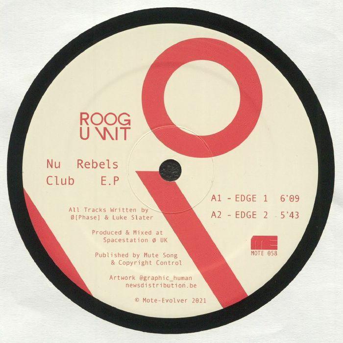 Roog Unit Nu Rebels Club EP