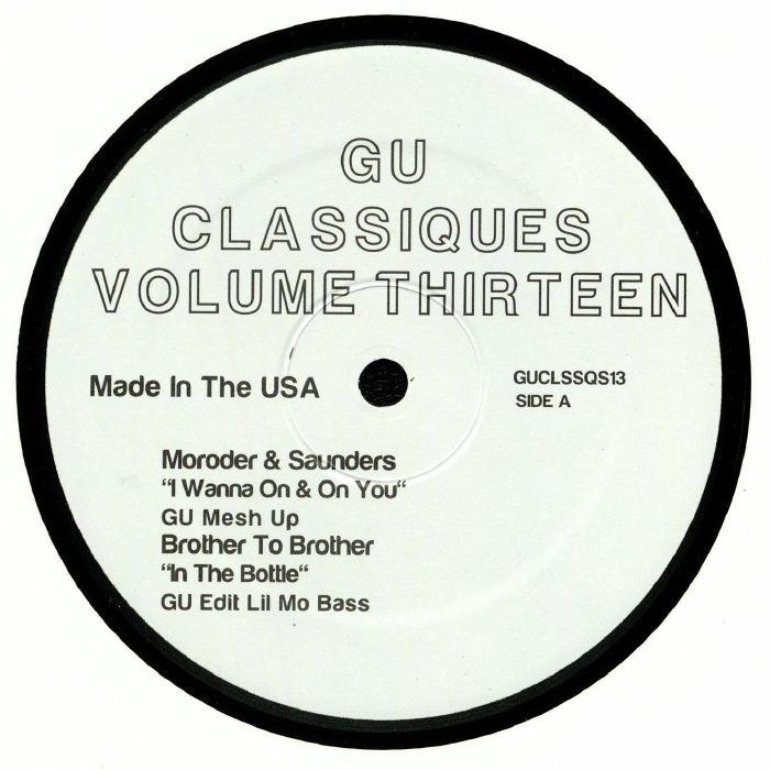 Gu   Glenn Underground   Moroder   Saunders   Brother To Brother   Revealation   Trammps   Jack Ashford Classiques Volume Thirteen