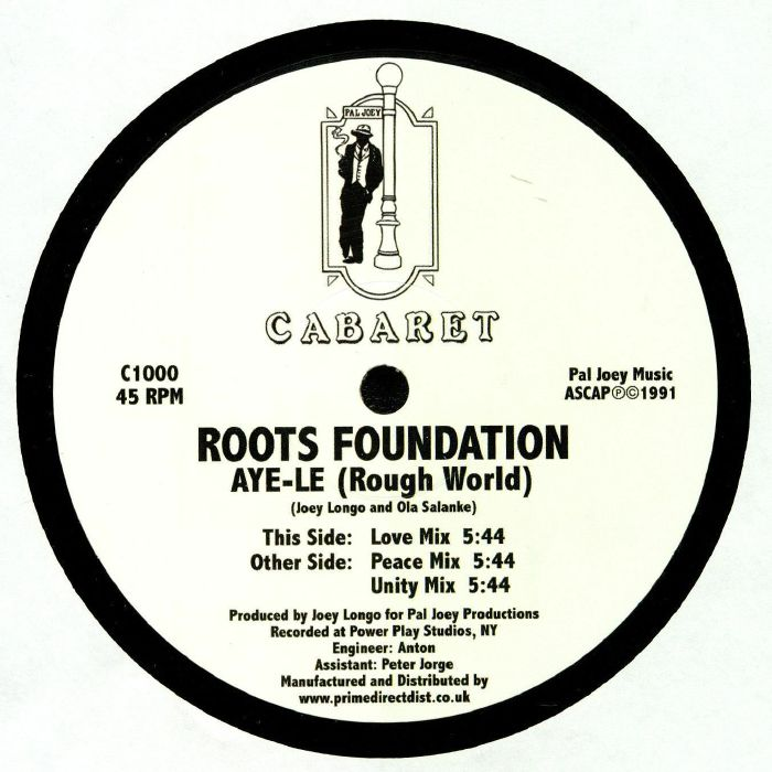 Roots Foundation Aye Le (Rough World)