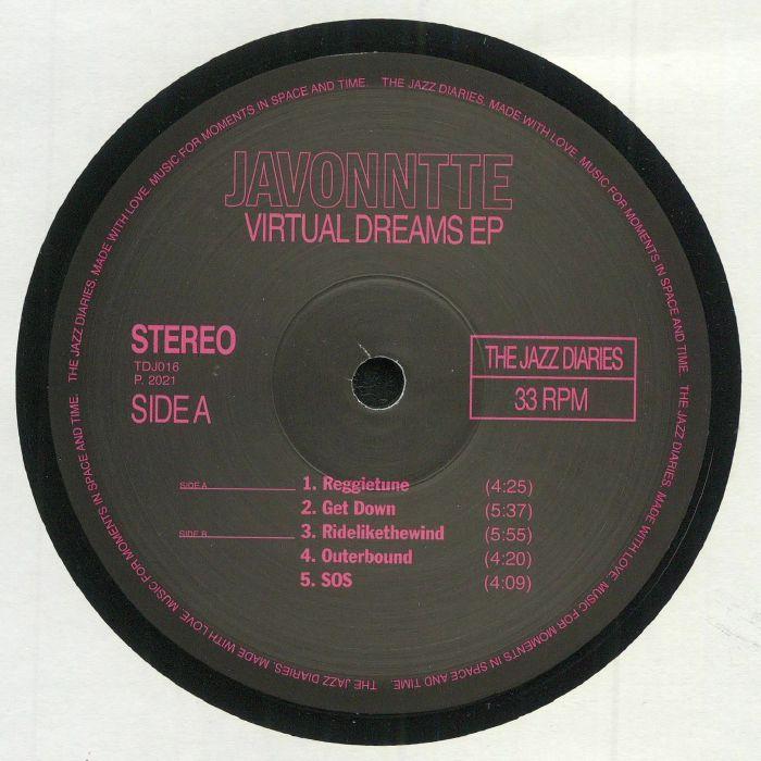 Javonntte Virtual Dreams EP