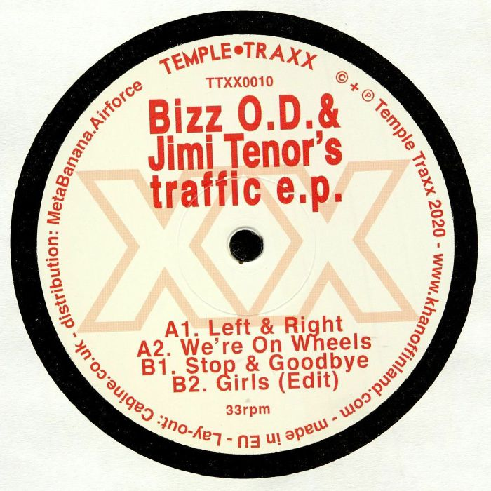 Bizz Od   Jimi Tenor Traffic EP