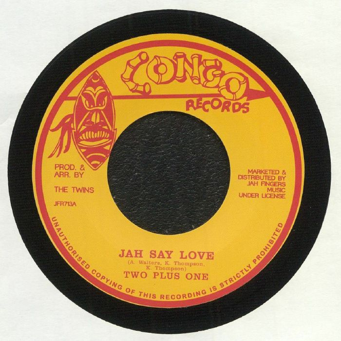 Jah Fingers Vinyl