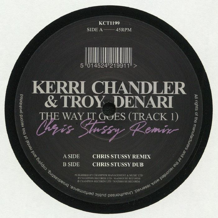 Kerri Chandler   Troy Denari The Way It Goes