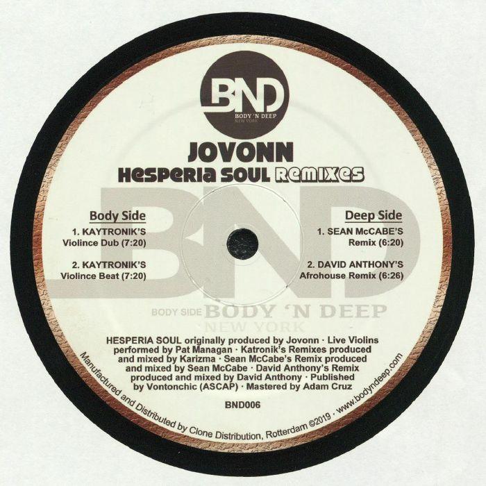 Hesperia Soul (remixes)