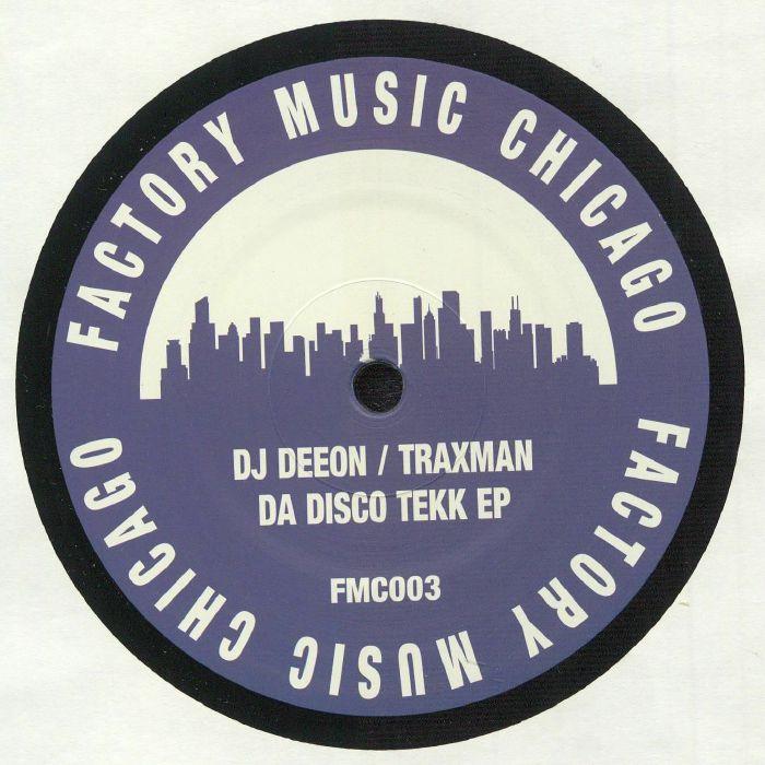 DJ Deeon | Traxman Da Disco Tekk EP