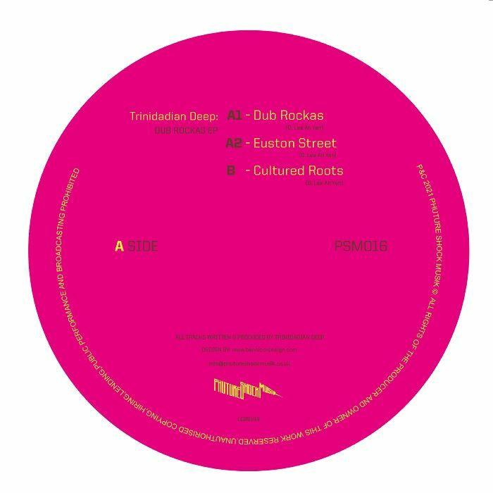 Trinidadian Deep Dub Rockas EP