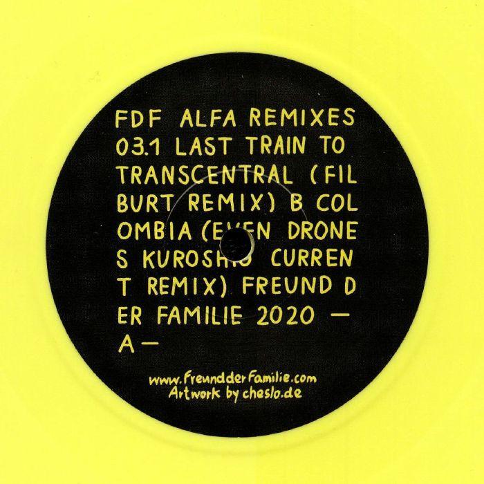Freund Der Familie Alfa Remixes 03.1