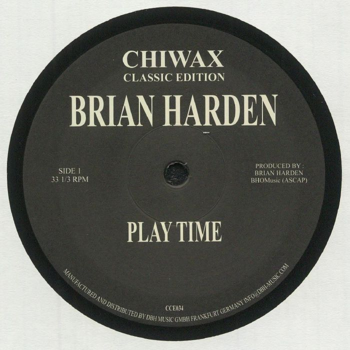 Brian Harden Play Time