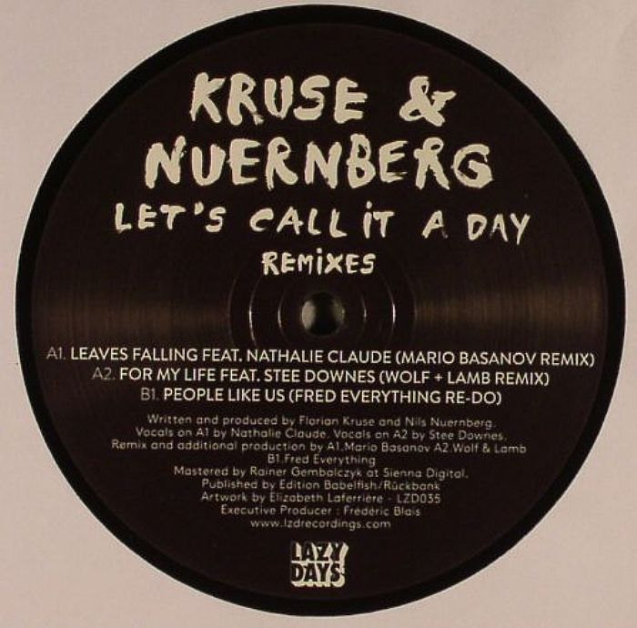 Lets Call It A Day (remixes)