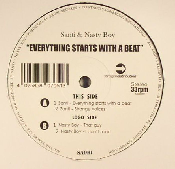 Everything Starts With A Beat
