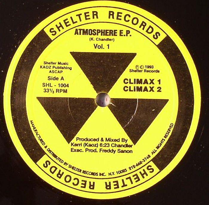 Kerri Chandler Atmosphere EP