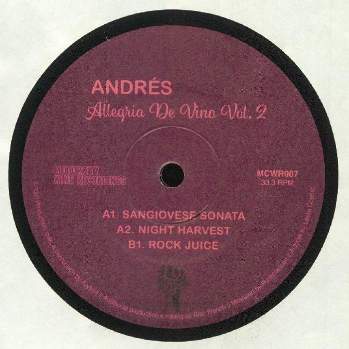 Andres Allegria De Vino Vol 2