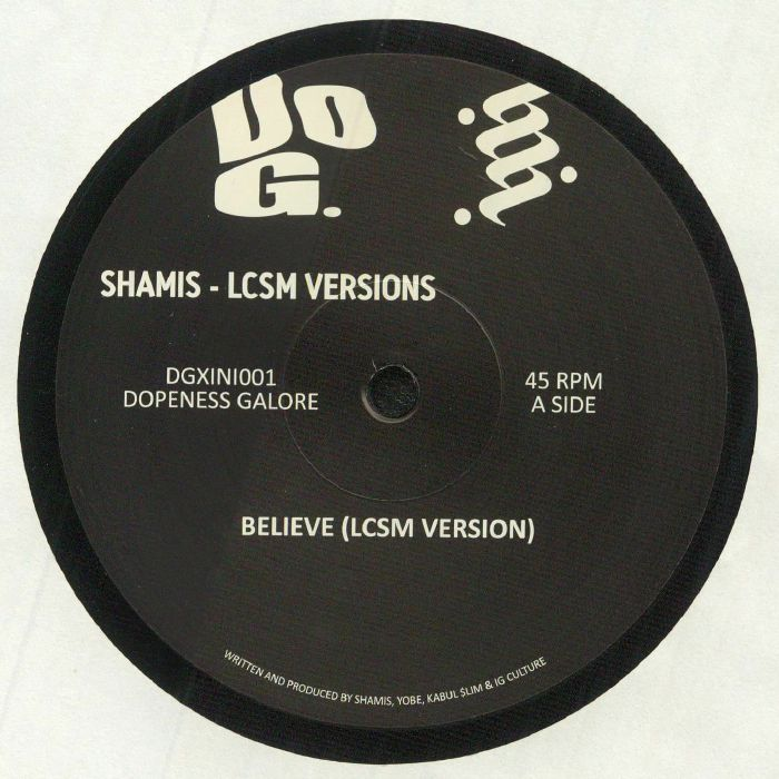 Shamis   Lcsm Believe