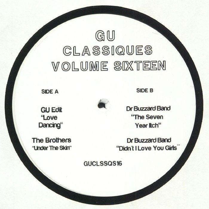 Gu   Glenn Underground Classiques Volume Sixteen