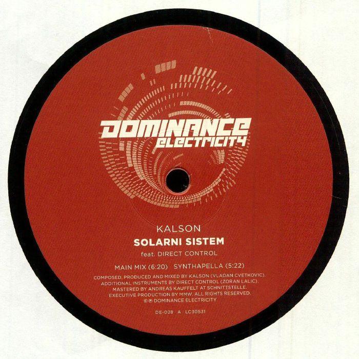Dominance Electricity Vinyl
