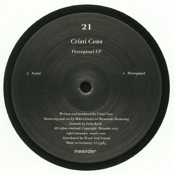 Cristi Cons Perceptual EP