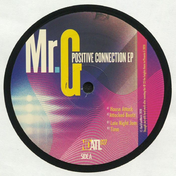 Mr G Positive Connection EP