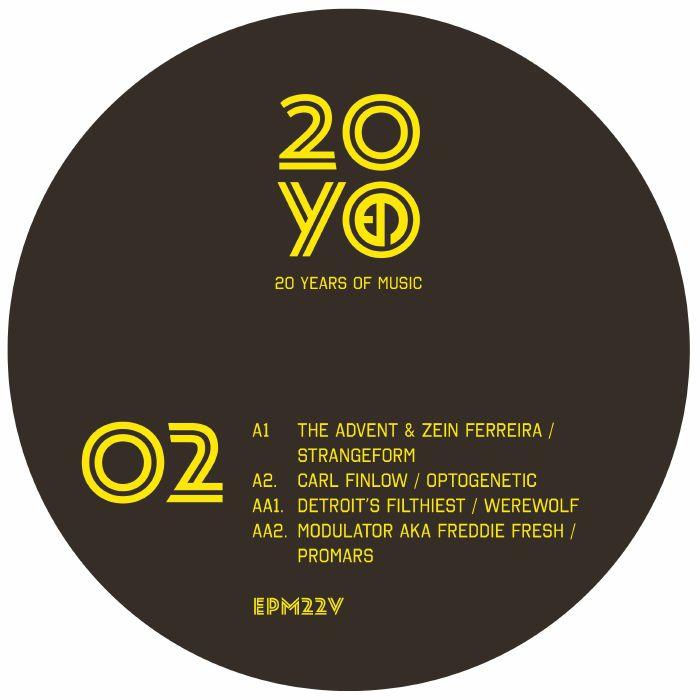 The Advent | Zein Ferreira | Carl Finlow | Detroits Filthiest | Modulator | Freddie Fresh EPM20 EP2