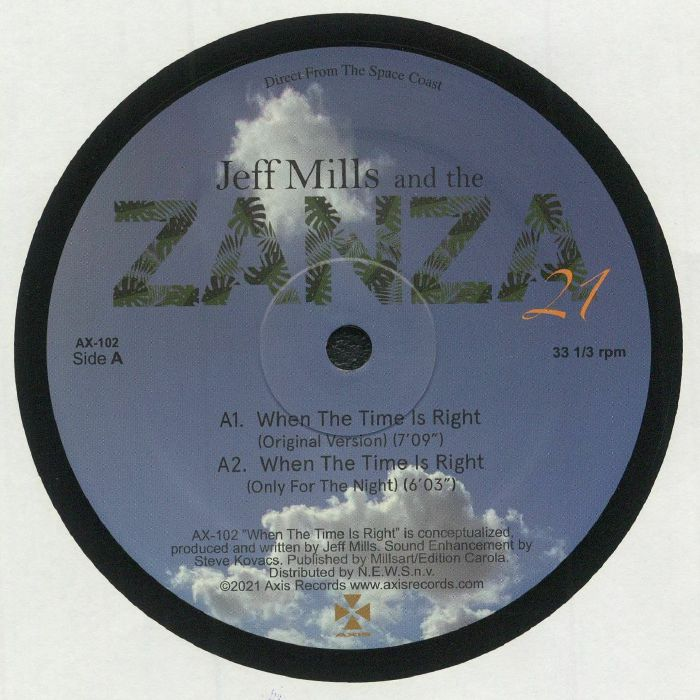 Jeff Mills | The Zanza 21 When The Time Is Right