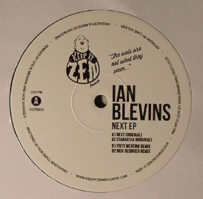 Ian Blevins Next EP