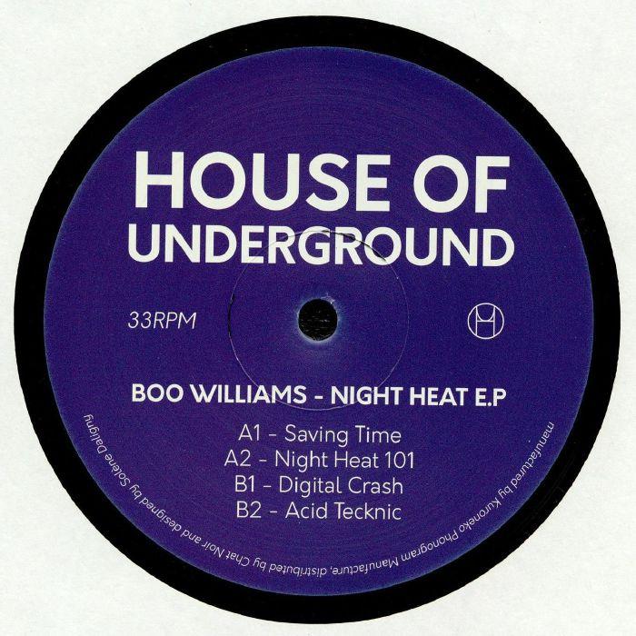 Boo Williams Night Heat EP