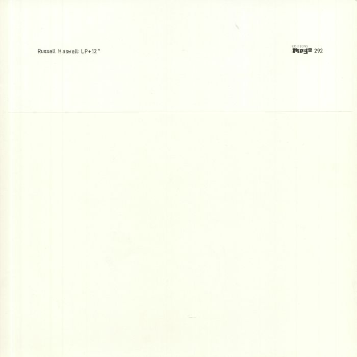 Russell Haswell LP + 12 Inch