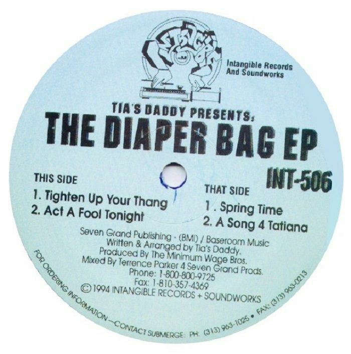 Tias Daddy | Terrence Parker The Diaper Bag EP