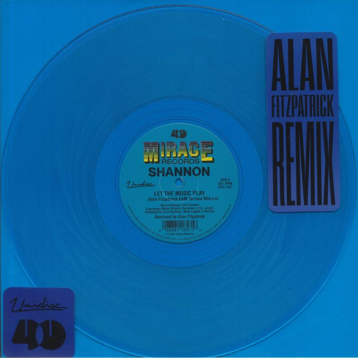 Shannon Let The Music Play (Alan Fitzpatrick 6AM Terrace Mix)