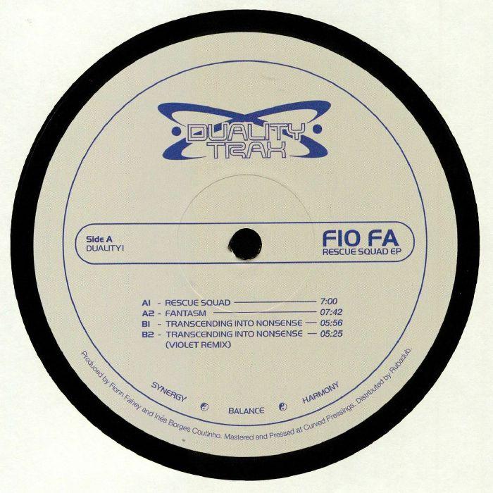Fio Fa Rescue Squad EP