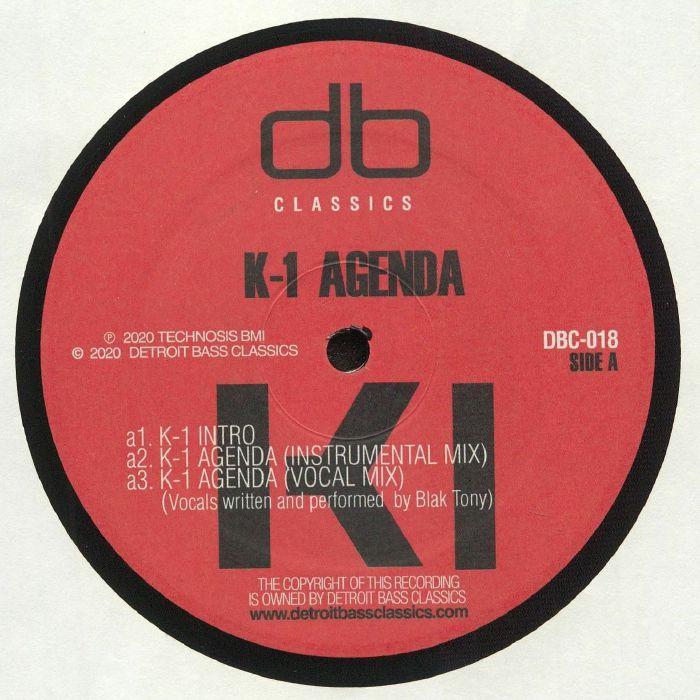 K 1 Agenda