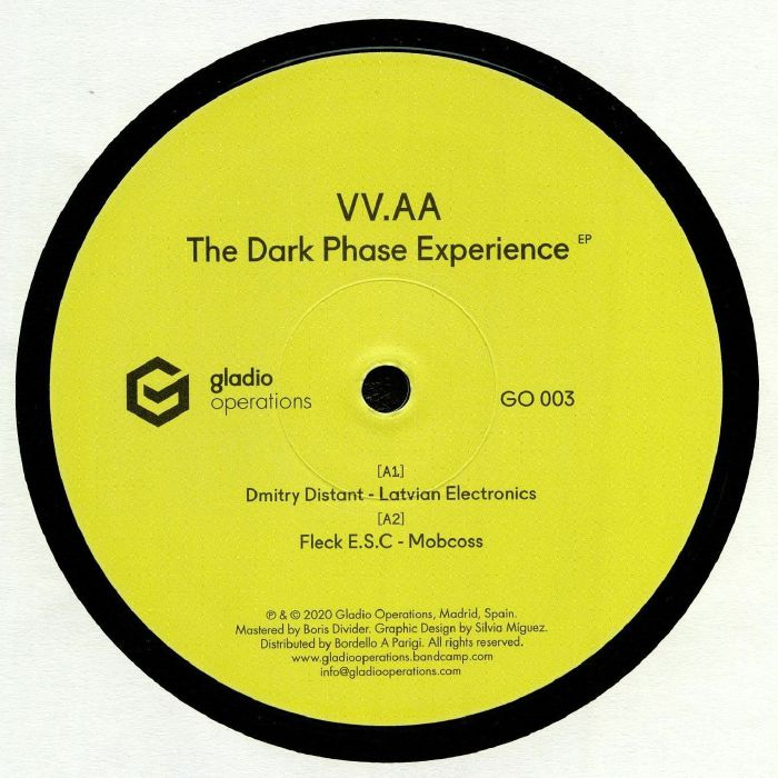 Dmitry Distant | Fleck Esc | Scape One | Telephasycx! The Dark Phase Experience EP