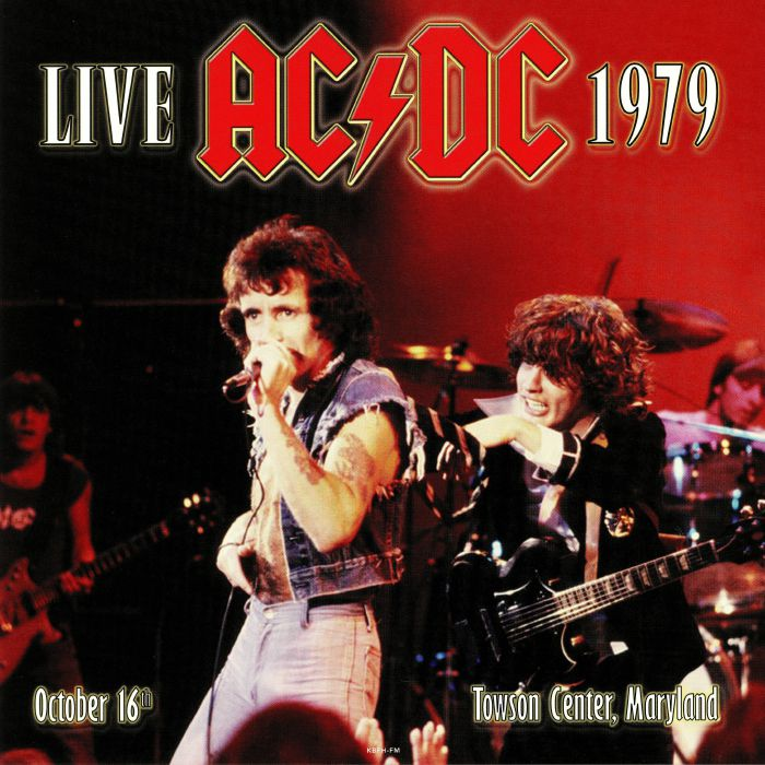 Live 1979: Towson Center Maryland
