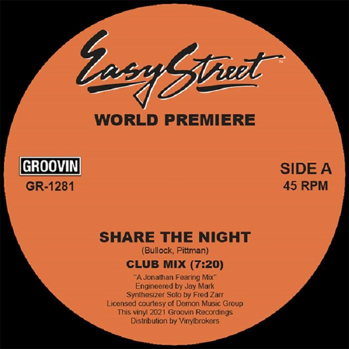 World Premiere Share The Night