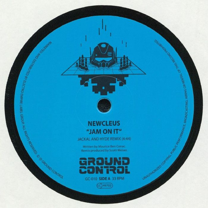 Ground Control De Vinyl