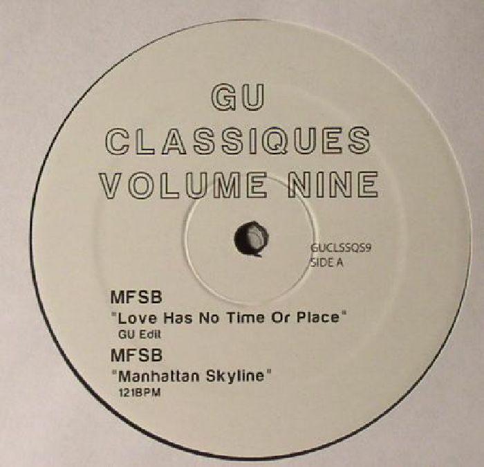 Gu   Glenn Underground Classiques Volume 9