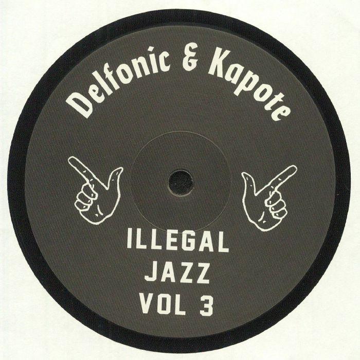 Illegal Jazz Recordings Vinyl
