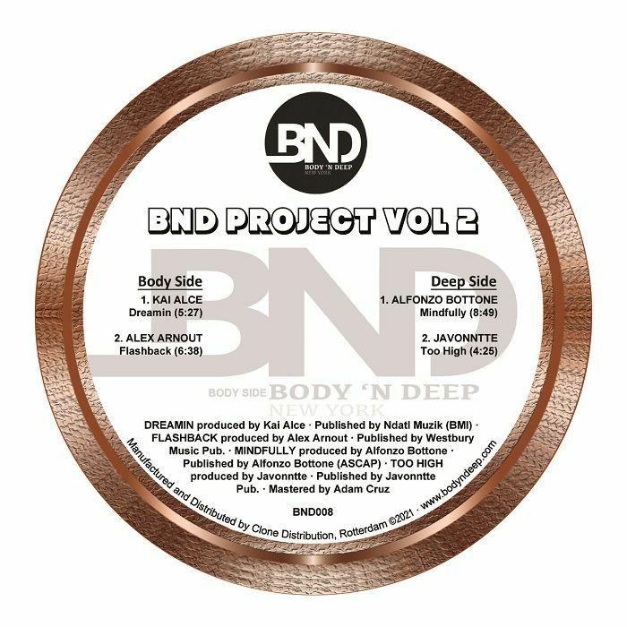 Kai Alce   Alex Arnout   Alfonso Bottone   Javonntte BND Project Vol 2