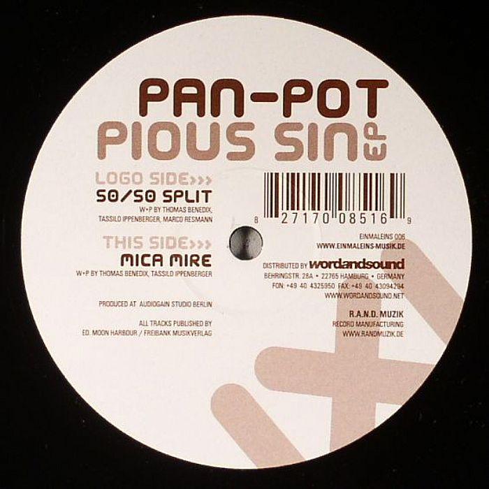 Pan Pot Pious Sin EP