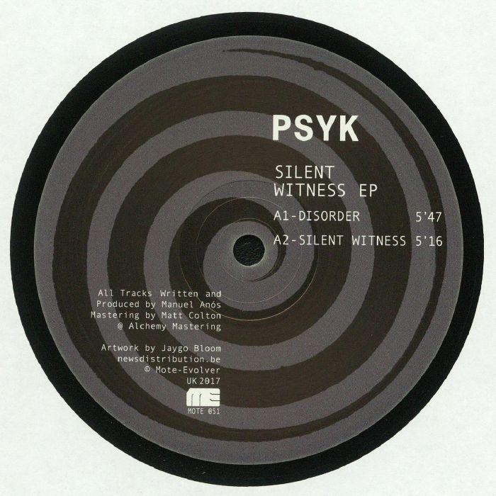 Psyk Silent Witness EP