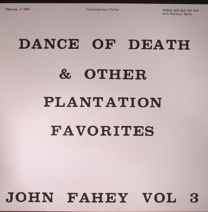 Dance Of Death and Other Plantation Favorites Vol 3