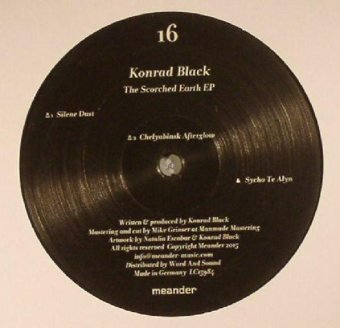 Konrad Black The Scorched Earth EP