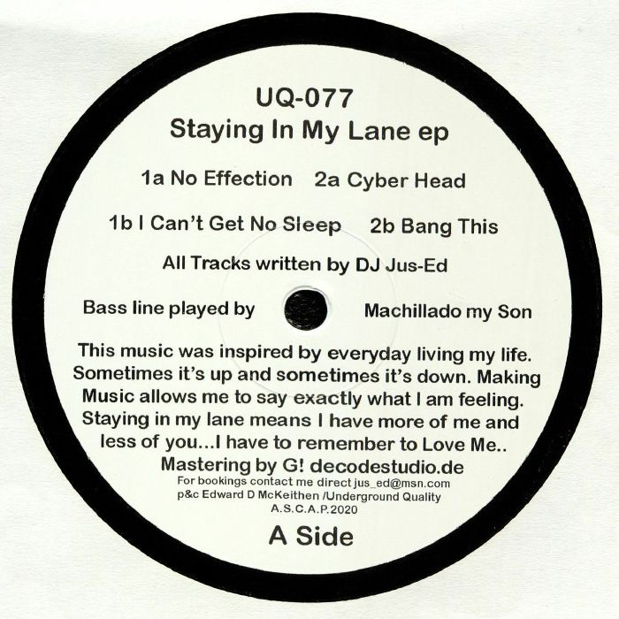 Staying In My Lane EP