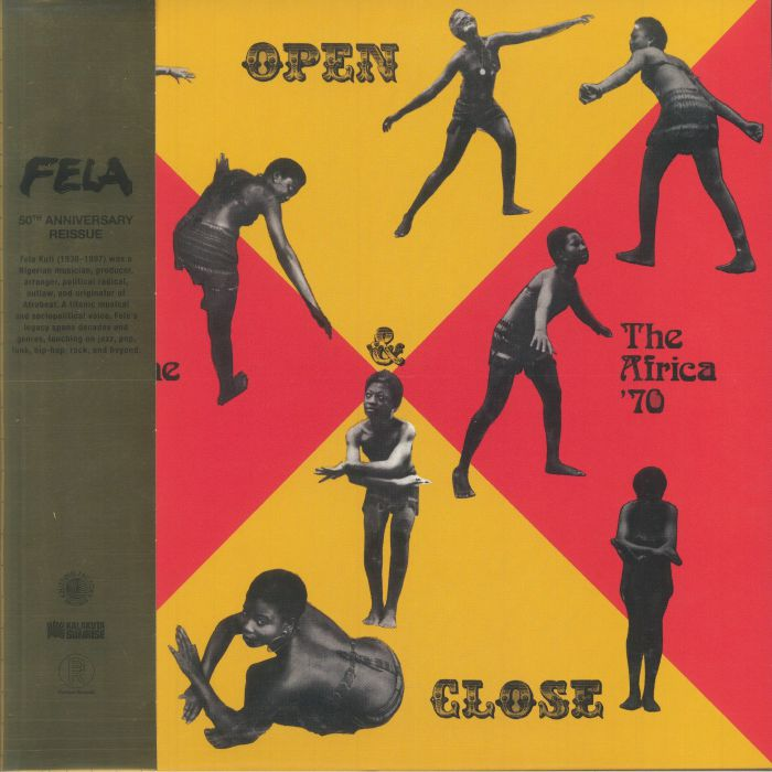 Fela Ransome Kuti and The Africa 70 Open and Close (50th Anniversary Edition) (Record Store Day 2021)